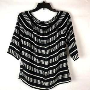 Cynthia Rowley Striped Blouse S